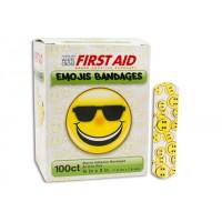 Dukal Emoji Bandages - 3/4 x 3 - Bx100