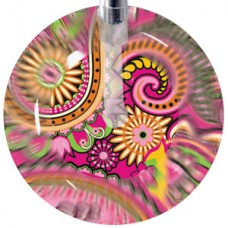 Ultrascope Stethoscope with 203 Pink Paisley Head