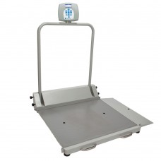 Healthometer Bariatric Portable Digital Wheelchair Scale