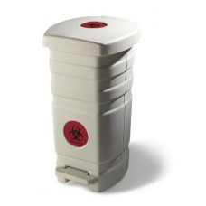 Midmark Waste Receptacle with Retaining Ring
