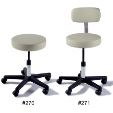 Midmark 270 271 Adjustable Stool with Composite Base