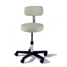 Midmark 271 Adjustable Stool with Composite Base and Backrest