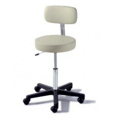 Midmark Ritter 273 Air Lift Stool with Composite Base and Backrest