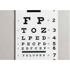 Dukal Kindergarten Plastic Eye Chart