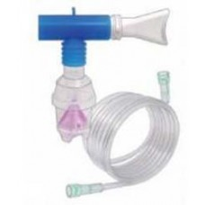Dynarex Opti-Mist II Nebulizer Kit 7 ft. Oxy Tubing T Pc Mouth Piece 6 Aero Tubing Ca50