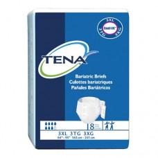 Tena Adult Bariatric Ultra Briefs, Green, 3XL, Ca32