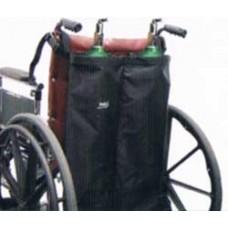 Skil-Care Double Oxygen Cylinder Holder