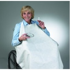Skil-Care Geri-Chair Smokers Apron - Blue