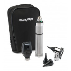 Welch Allyn 97121 Diagnostic Set with Pneumatic Otoscope in Soft Case