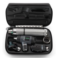 Welch Allyn Diagnostic Set with Coaxial Ophthalmoscope, MacroView Otoscope, Convertible Rechargeable Handle and Hard Case