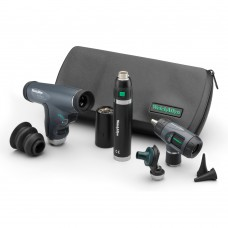 Diagnostic Set: PanOptic™ Ophthalmoscope,Cobalt Blue Filter w/ Lens, Lithium Ion Handle In Hard case