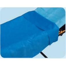 Tidi Everyday Stretcher Sheets - 40in x 90in - Blue- Ca50