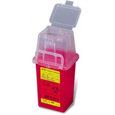 Becton Dickinson Sharps Container 1.4 Quart Red Ea