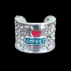 Ultrascope Stethoscope Coffee Lover Charm