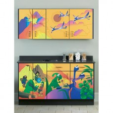 Clinton ''Dino Days'' Wall and Base Cabinets