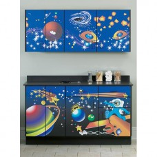 Clinton ''Space Place'' Wall and Base Cabinets