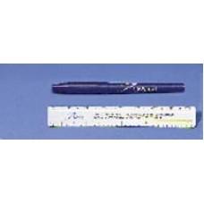 DeRoyal Skin Marker Standard Tip with  Ruler and Labels Blue Barrel- Ca50