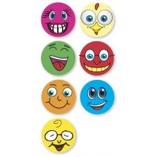 UAL Kids Stickers - Smiley Faces - 1x1 - RL90
