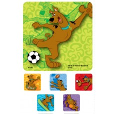 UAL Kids Stickers - Scooby Doo - 2.5x2.5 - RL90