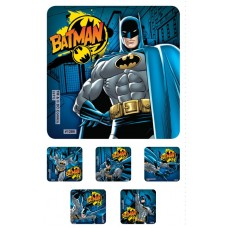 UAL Kids Stickers - Batman - 2.5x2.5 - RL90