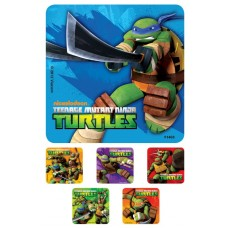 UAL Kids Stickers - Ninja Turtles - 2.5x2.5 - RL90