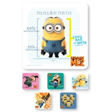 UAL Kids Stickers - Despicable Me - 2.5x2.5 - RL90