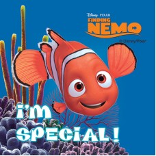 UAL Kids Stickers - Finding Nemo - 2.5x2.5 - RL90