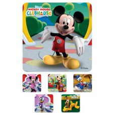UAL Kids Stickers - Mickey Mouse Clubhouse - 2.5x2.5 - RL90