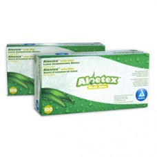 Dynarex Aloetex Latex Exam Gloves - Ca1000