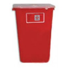 Bemis 11 Gallon Red Sharps Collector- Ca6