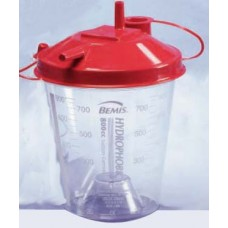 Bemis 800cc Hydrophobic Rigid Suction Canister- Ca100
