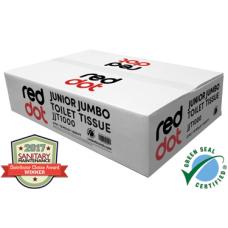 RedDot Junior Jumbo Toilet Tissue - 2ply - Ca12