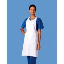 Busse Plastic Aprons 28'' x 46'' White Ca144