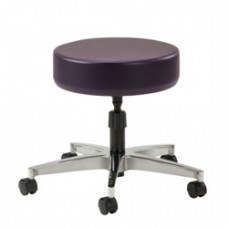 Clinton 2150 Physician Stool Stainless Steel Base Spin Lift