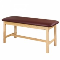Clinton 100 Flat Top Straight Line Treatment Table