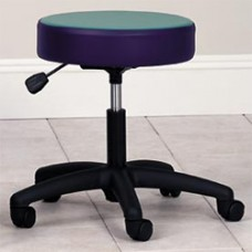 Clinton Pediatric Pneumatic Stool with Multi-Color Top
