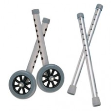 Drive Extended Height 5'' Walker Wheels and Legs Combo Pack