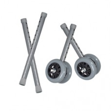 Drive Heavy Duty Bariatric 5'' Walker Wheels with Extension Legs