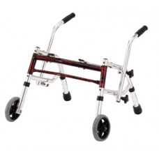 Drive Flame Red Pediatric Glider Walker