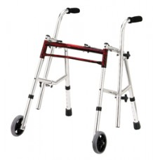 Drive Flame Red Junior Glider Walker