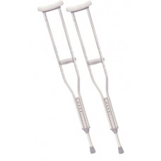 Drive Pediatric Walking Crutches with Underarm Pad and Handgrip