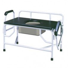 Drive Bariatric Drop Arm Bedside Commode Seat