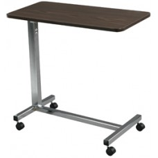 Drive Non Tilt Top Chrome Overbed Table