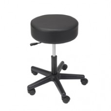 Drive Padded Seat Revolving Pneumatic Adjustable Height Stool with Plastic Base