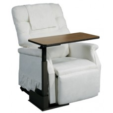 Drive Seat Lift Chair Left Side Overbed Table