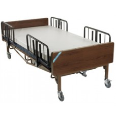 Drive Full Electric Super Heavy Duty Bariatric Hospital Bed with Mattress and T Rails