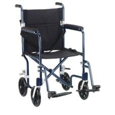 Drive 19'' Flyweight Lightweight Blue Transport Wheelchair