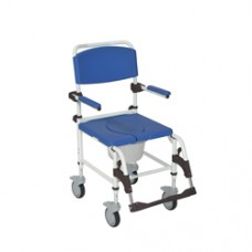 Drive Aluminum Shower Commode Transport Chair