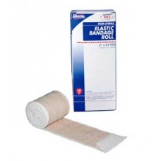 Dukal Elastic Bandage with Velcro Closure, 4'' Bx10