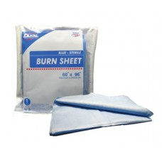 Dukal Burn Sheet SMS Blue 60x96, Ca12